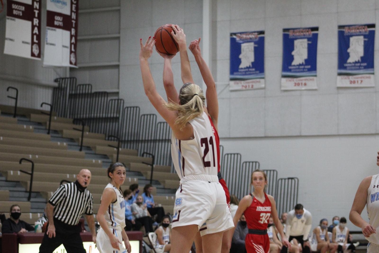 Girls' Basketball vs. Kankakee Valley – 12-8-20
