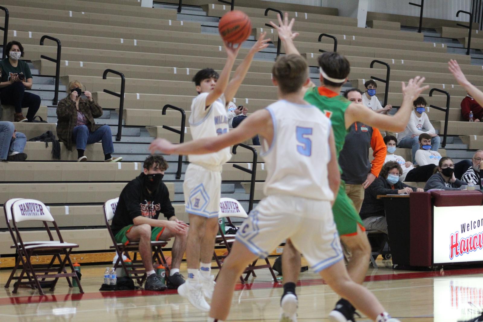 Boys Basketball vs. Wheeler – 12-19-20