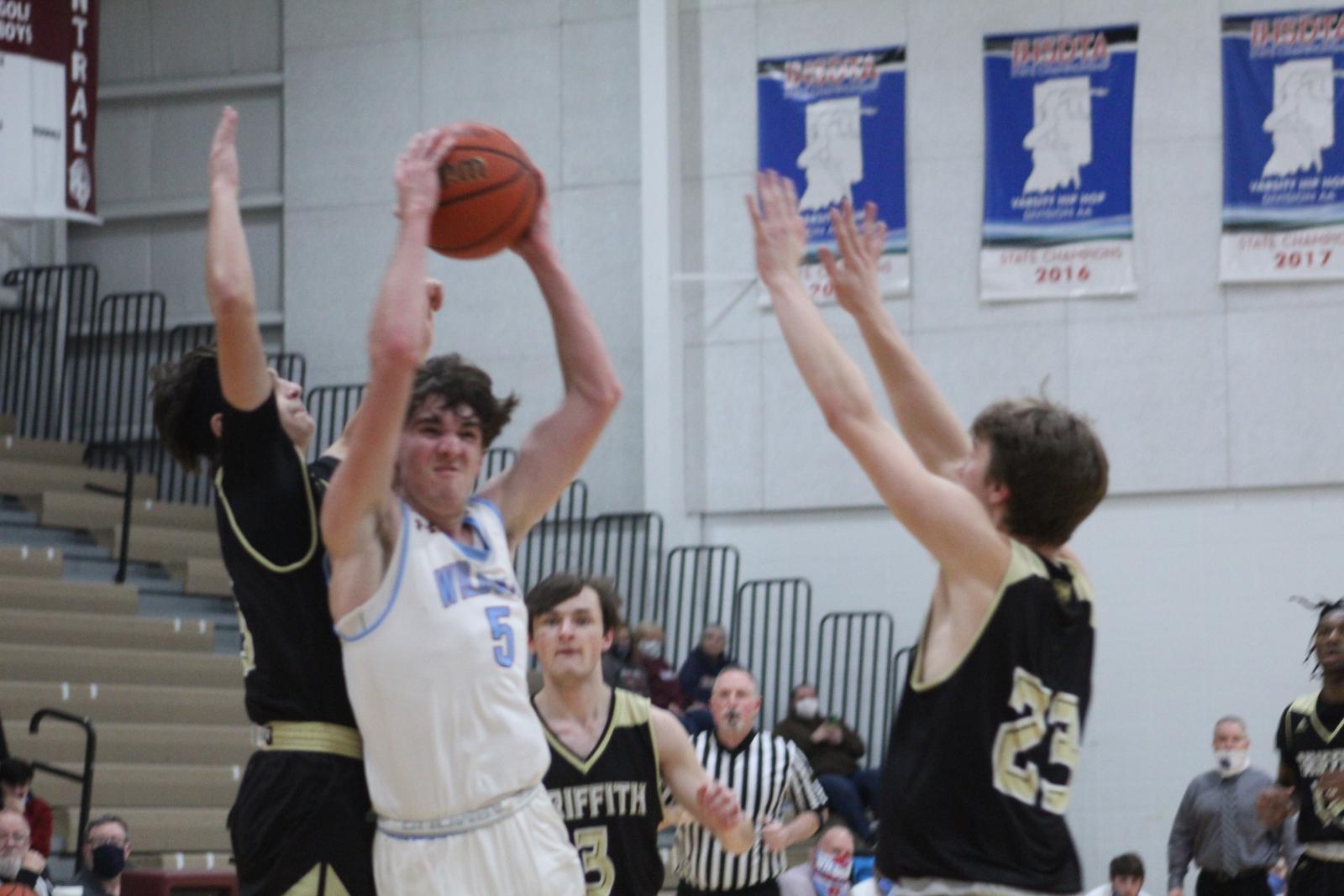 Boys Basketball vs. Griffith – 1-15-21