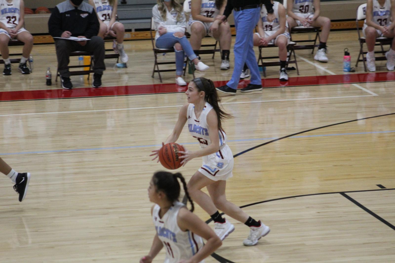 Girls Basketball vs. Calumet – 1-28-21