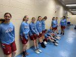 Girls 8th Grade Basketball beats Pierce Middle School 31 – 23