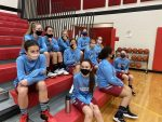 Girls 8th Grade Basketball beats Kankakee Valley Middle School 28 – 11