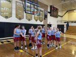 Girls 8th Grade Basketball beats Hebron Jr-Sr. 28 – 17