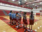Girls 8th Grade Basketball beats North Newton 36 – 16 at the KV Invite