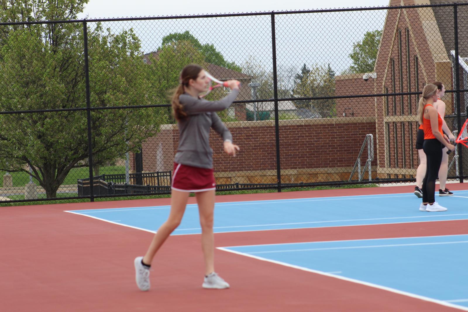 Tennis vs. North Newton – 5-3-21