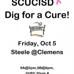 Volleyball – SCUCISD Dig for a Cure!!
