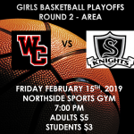 Girls Basketball Playoffs – Round 2