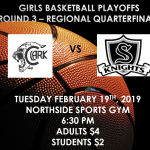 Girls Basketball Playoffs – Round 3!