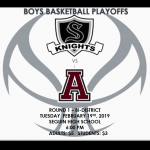 Boys Basketball Playoffs – Round 1!