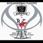 Boys Basketball Playoffs Round 2!!!