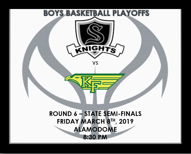 BOYS BASKETBALL – STATE SEMI-FINALS!!!!!!