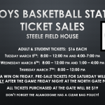 State Tournament Ticket Pre-Sale Information!!!
