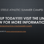 2019 ATHLETIC CAMPS!!!