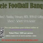 STEELE FOOTBALL BANQUET!!