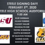 Steele Signing Day!