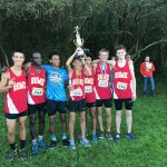 7-AAAAA Boys Cross Country Region Champions