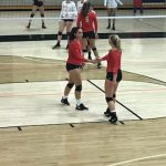 Wolves Volleyball in Action