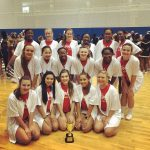 Varsity Competitive Cheer finishes 3rd place at Carrollton Classic