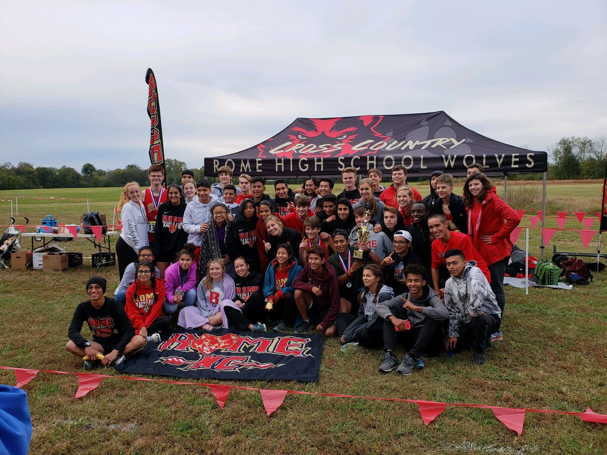 Cross Country Region Champs!