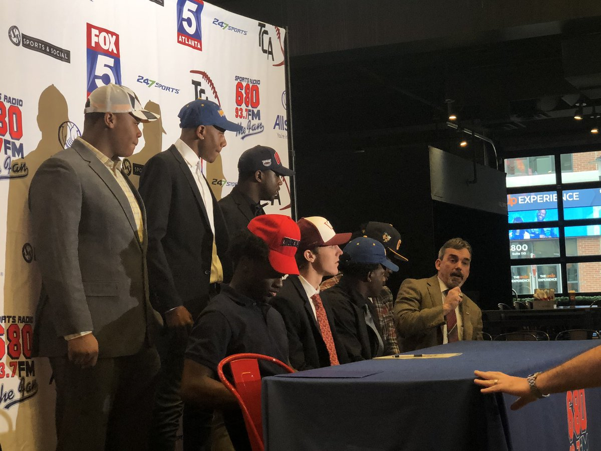 Rome Players Participate in Signing Day