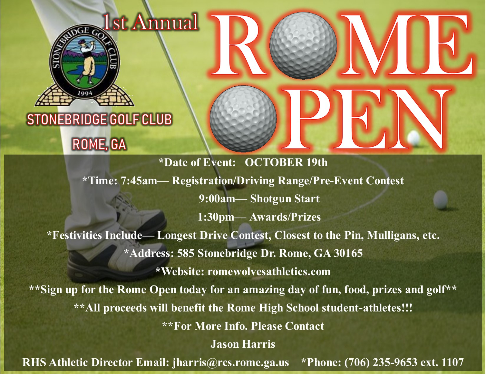 Homecoming Golf Tournament