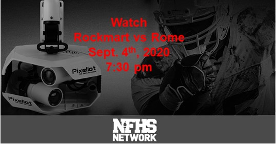 Rockmart Yellow Jackets vs Rome Wolves Live Stream on NFHS