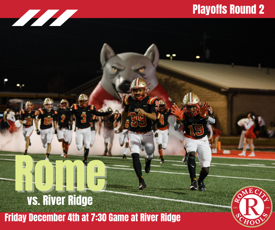 Rome 2nd Round Playoff Game @ River Ridge