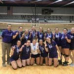 Volleyball goes 6-0 and Repeats as Coyote Clash Champions