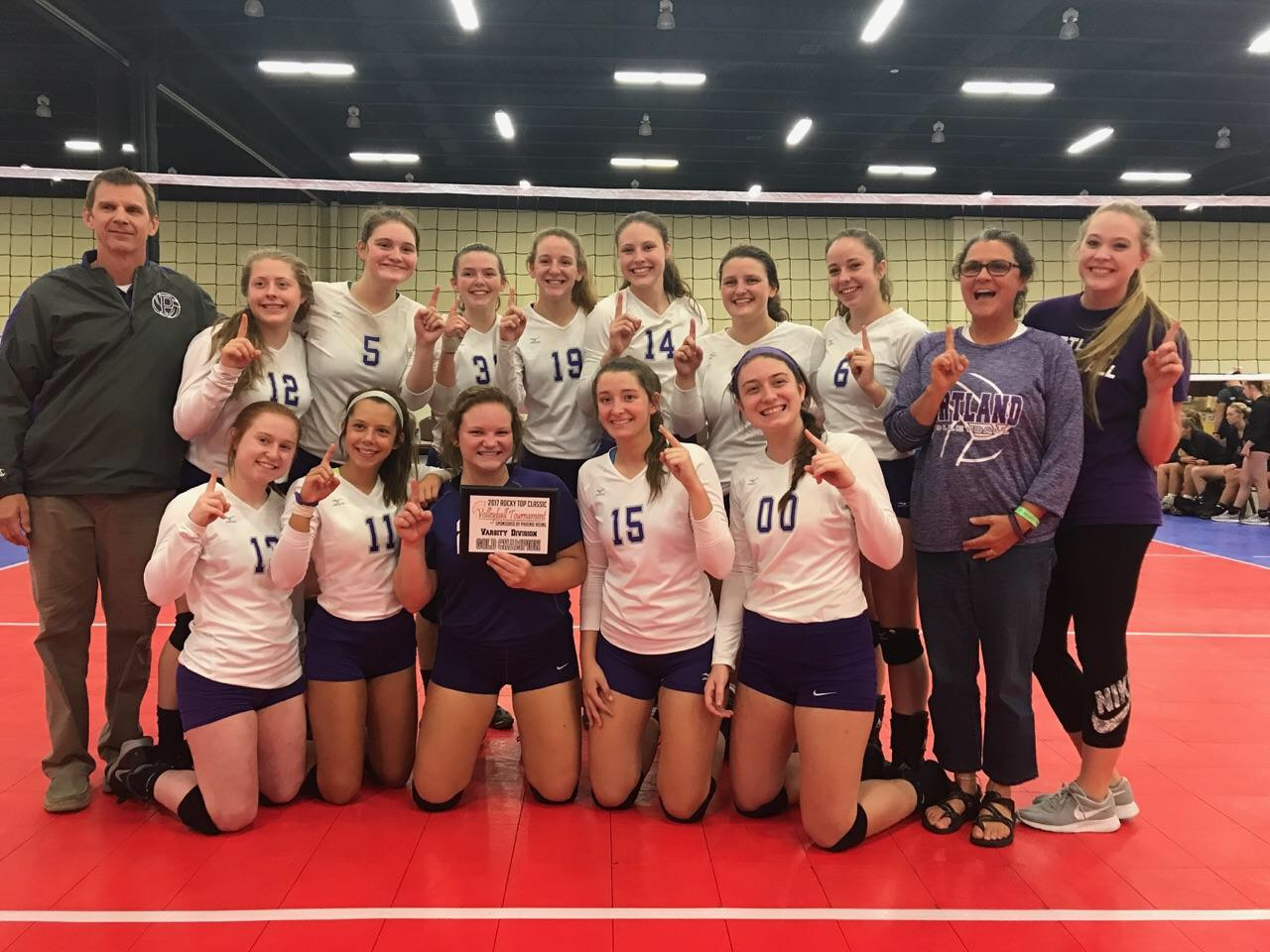 Panthers Win Rocky Top Volleyball Tournament