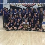 Girls Volleyball Wins District Tournament Championship