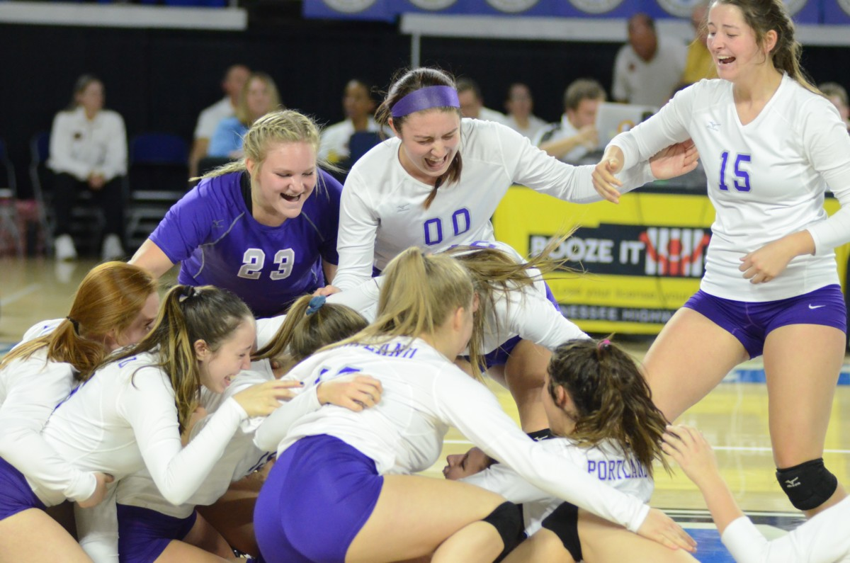 Panthers win State AA Volleyball Championship