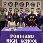 Rachel Jennings signs basketball scholarship