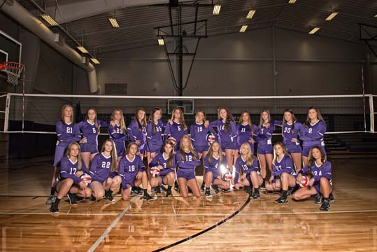 Volleyball Team Wins Coyote Classic