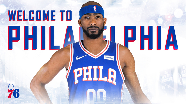 Corey Brewer signs with the 76ers