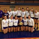 Volleyball finishes 2nd at Choo Choo Classic