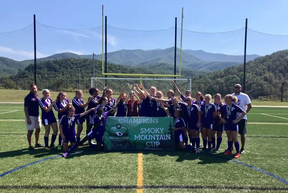 Girls Soccer Wins Rocky Top Tournament