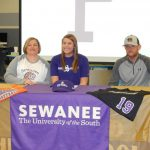 Alda-Katherine signs with Sewanee softball