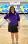 Maddie Taylor, 8th Place at State Bowling Tournament