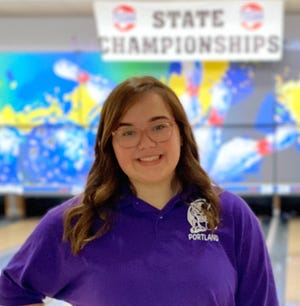 Maddie Taylor Named All-Midstate Bowling