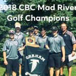 Boys Varsity Golf finishes 1st place at CBC Championships