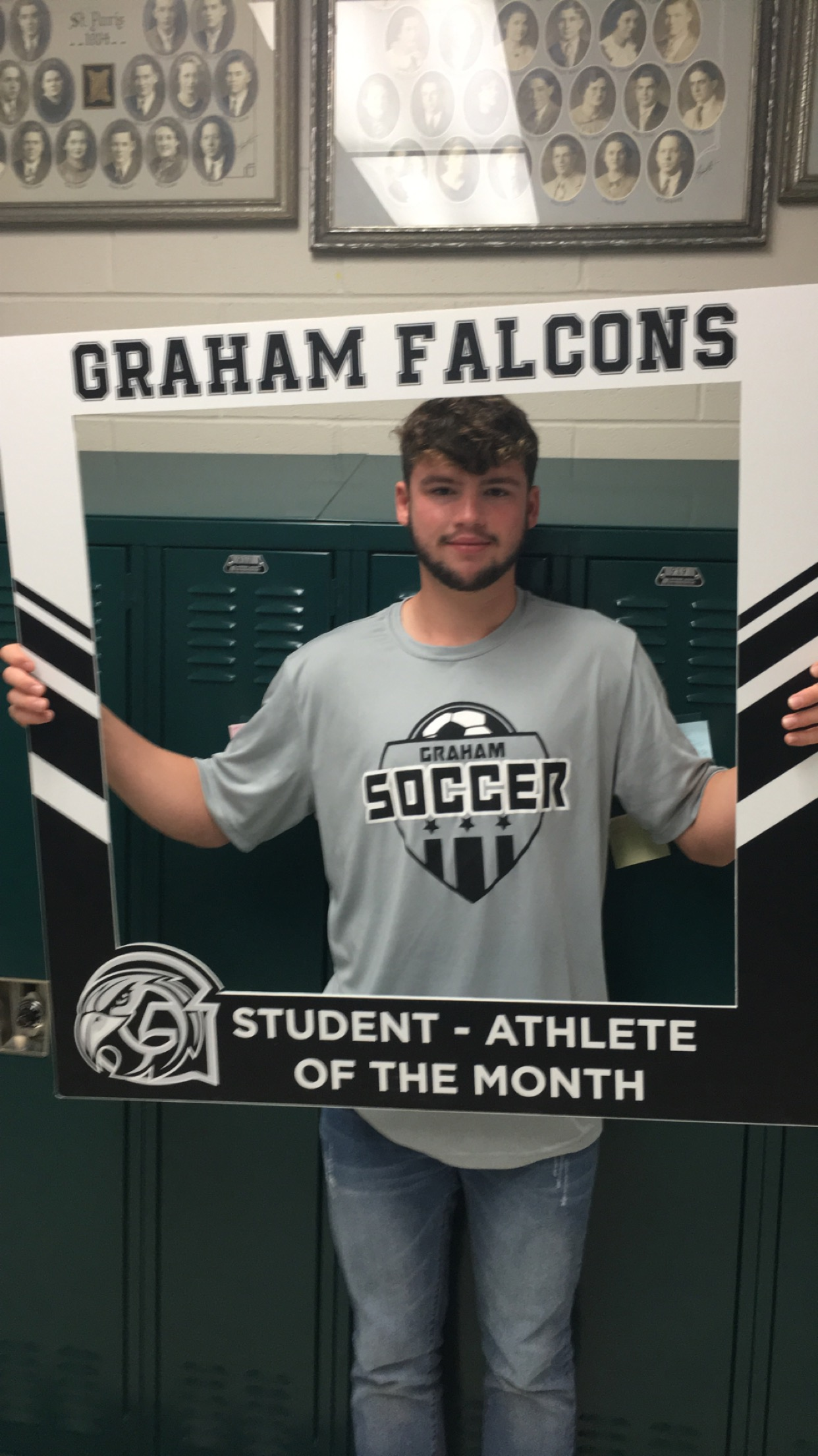 Congratulations to the October student-athlete of the month..Brady Oder!