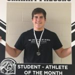 Congratulations to the November Student-Athlete of the Month… Nick Baker