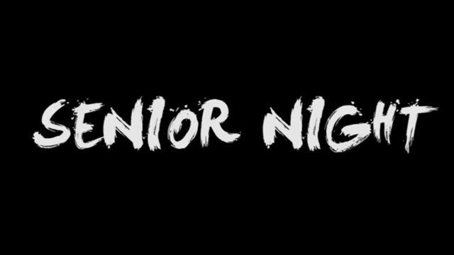 Senior Night for Fall Sports