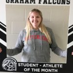 Congratulations Olivia VanHoose- January Student-Athlete of the Month!