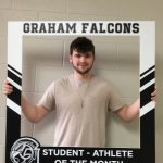 Congratulations to Brady Oder- January Student-Athlete of the Month!