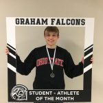 Congratulations to Chase Adams- February student-athlete of the month!!