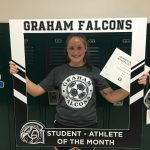 Congratulations to the May student- athlete of the month…  Brooke Ohnmeiss