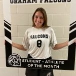 Congratulations Madeline Shearer- October student-athlete of the month!