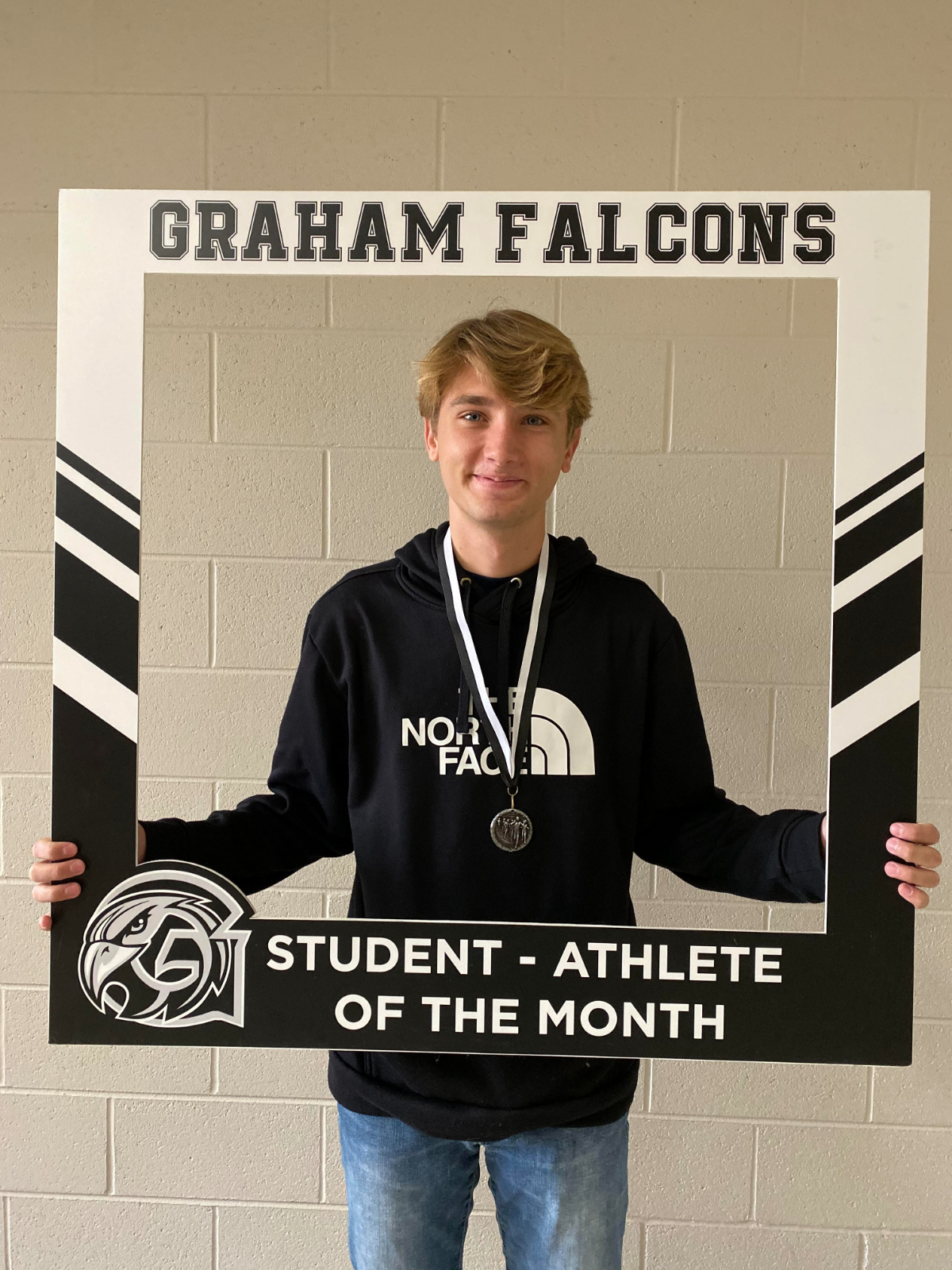 Congratulations to Payton McKellop… November student-athlete of the Month!!