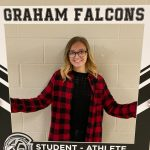 Congratulations to Makenna Nichols.. December student-athlete of the month